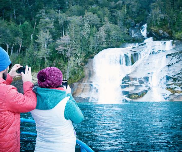 Actividades y excursiones lacustres en Cruce Andino