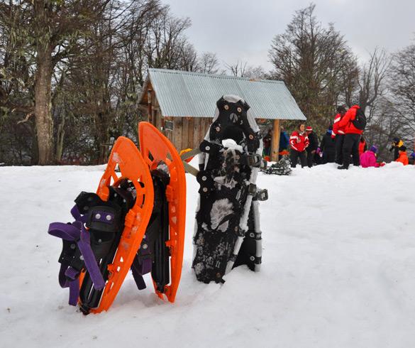 Actividades con raquetas de nieve