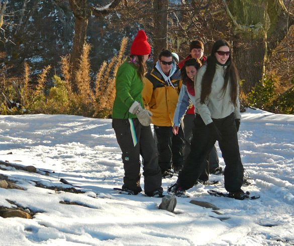 Snowshoeing Activities