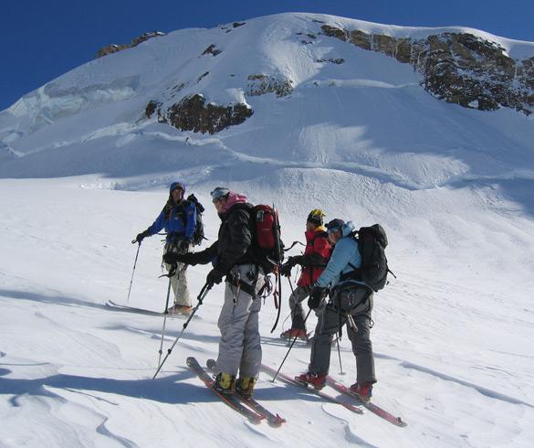 Ski Touring Activities