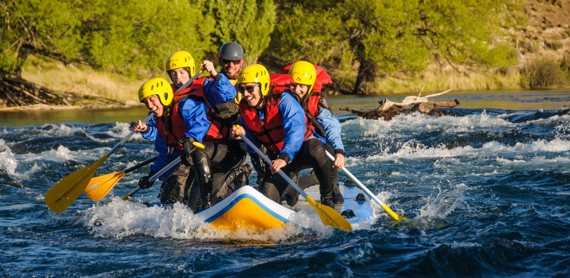 Stand Up Rafting