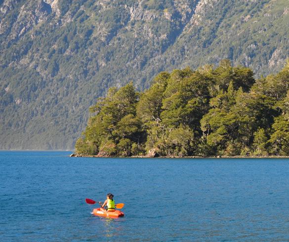Actividades en Lago Mascardi