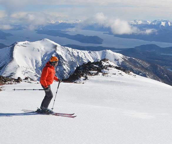 Atividades com esqui