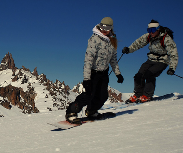 Winter in Bariloche