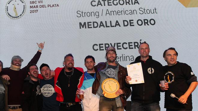 """Berlina, líder en la """"Copa Libertadores"""" de la cerveza artesanal"""