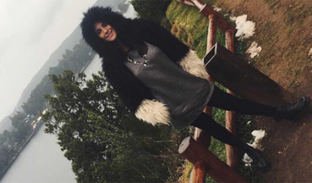 Ivana Nadal pasea por Bariloche