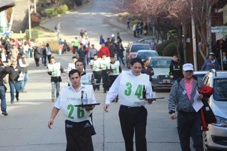 Los mozos de Bariloche volvieron a correr