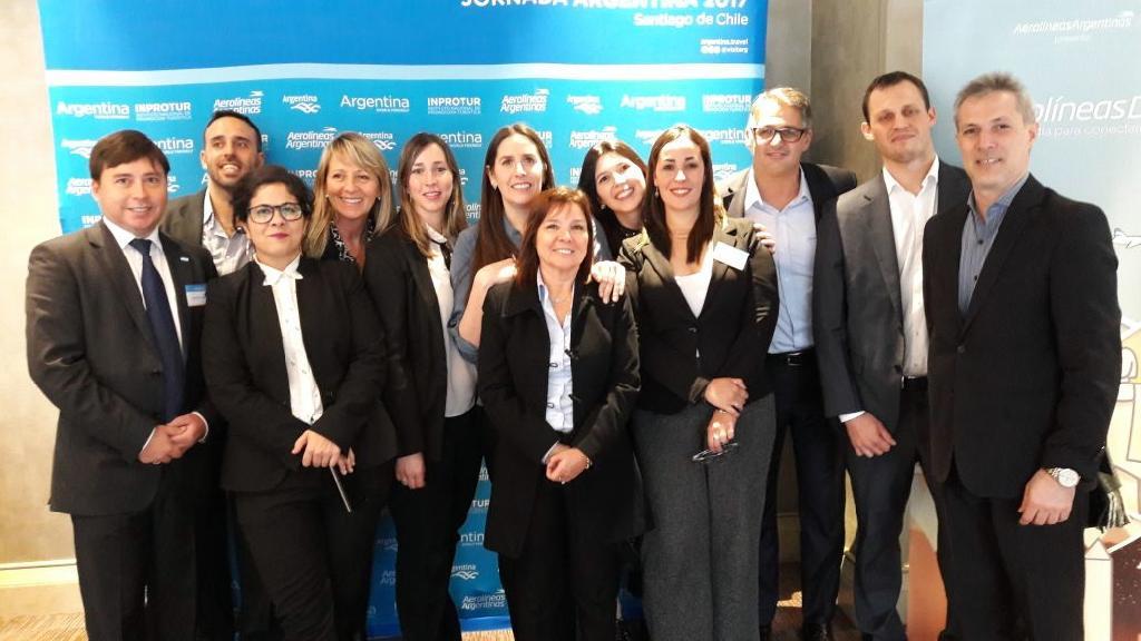 Bariloche en el primer Aerolineas Day en Chile