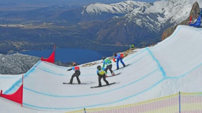 Bariloche recibió la Copa del Mundo de snowboard