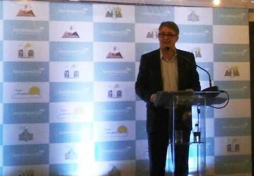 Bariloche inició las acciones de verano en Brasil