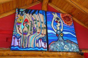 Bariloche recibe a 150 artistas de todo el mundo por el festival Arte por Igual