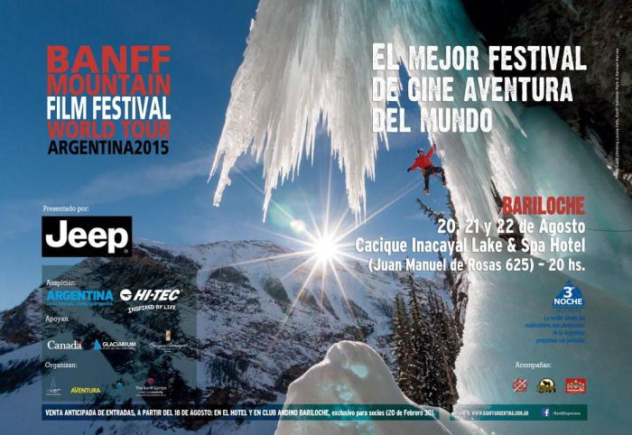 Llega el Banff. Clasico del cine de montaña.
