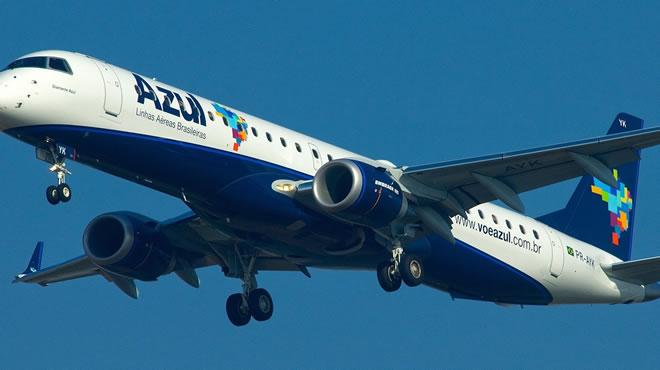 Brasil: la línea aérea Azul prevé triplicar sus frecuencias a Bariloche
