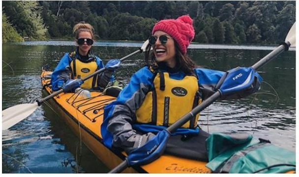 Valentina y Nati en Bariloche