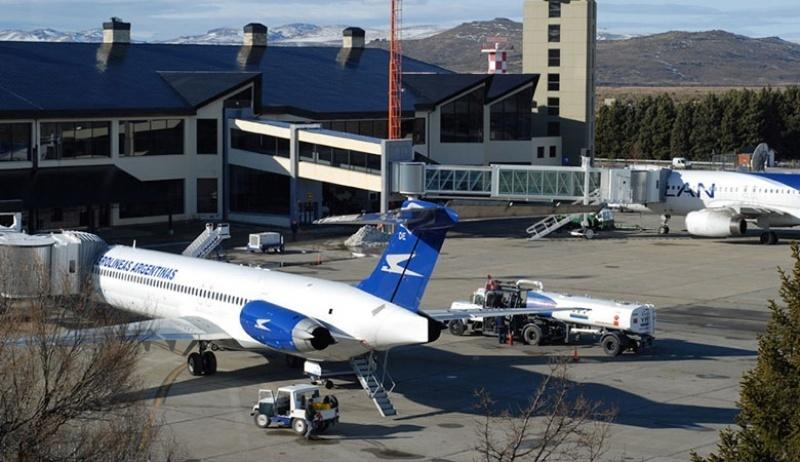 Creció el tráfico de pasajeros en el aeropuerto de Bariloche