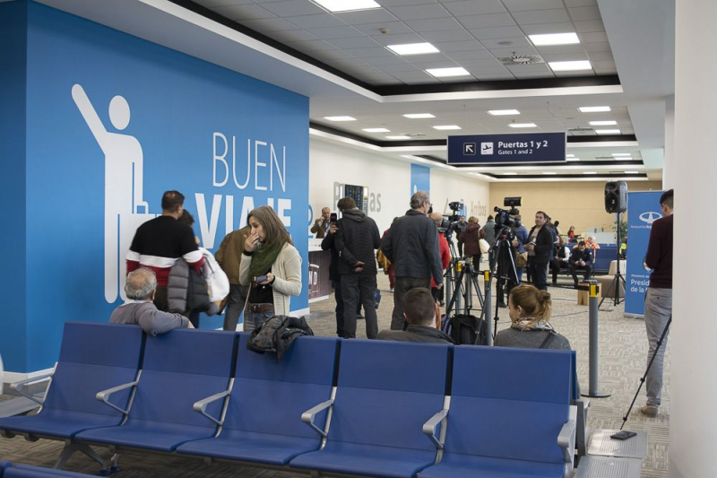 Inauguran mejoras en el aeropuerto de Bariloche