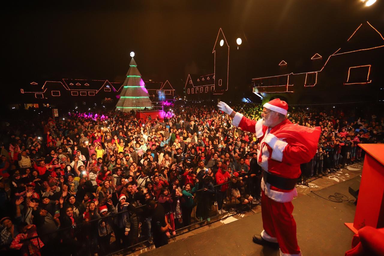 En Bariloche la Navidad es asi!!