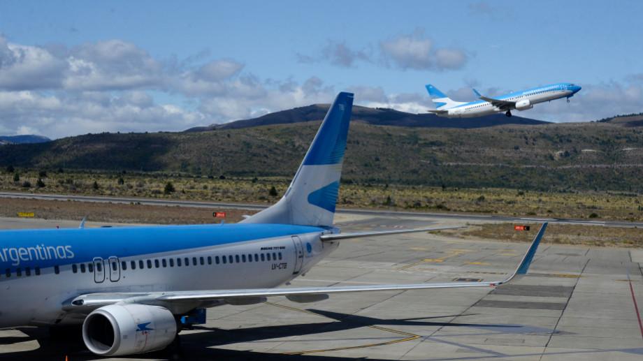 Bariloche tendrá vuelos todo el año a El Calafate