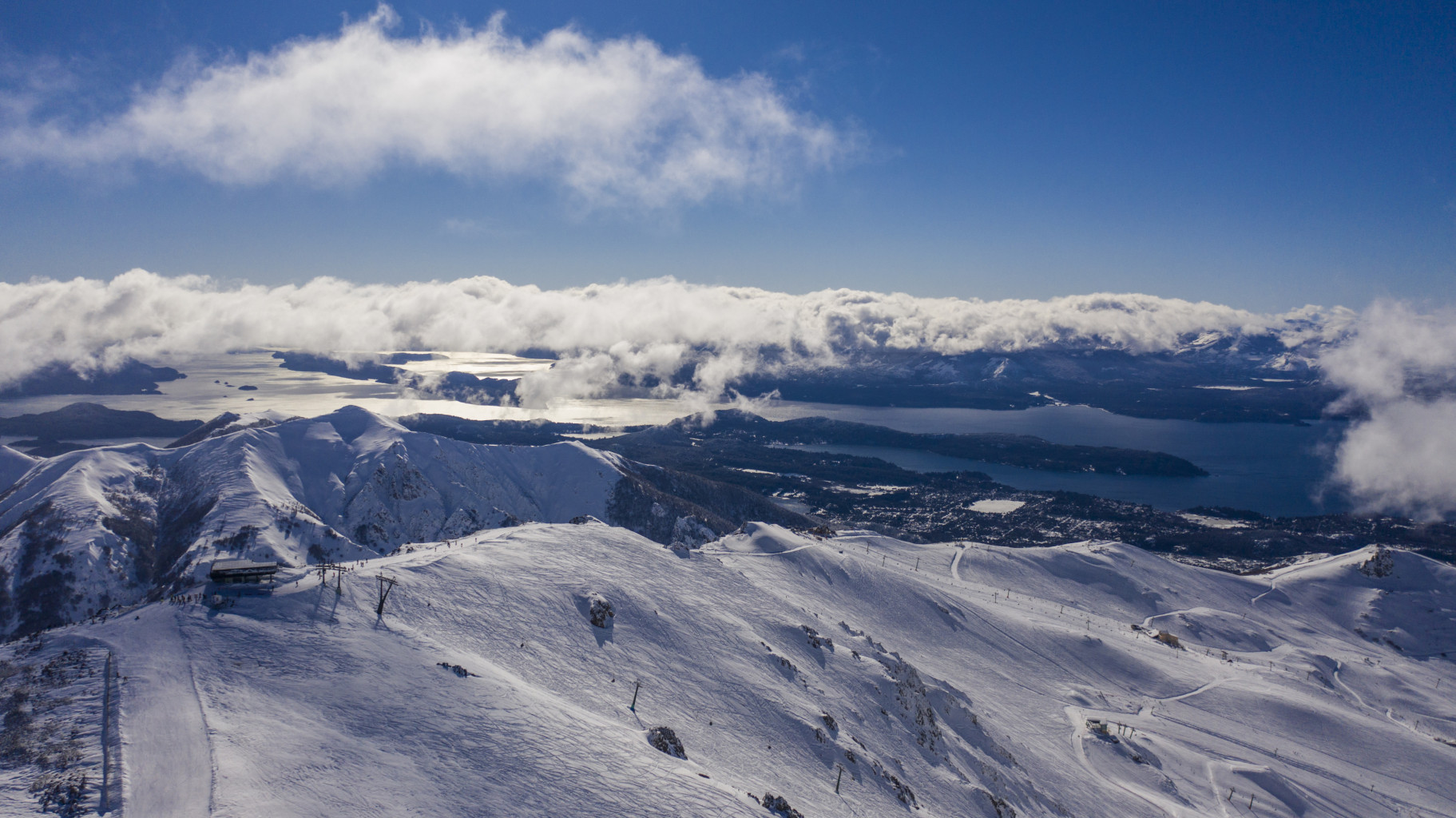 El Cerro Catedral abre para esquiadores residentes en Bariloche