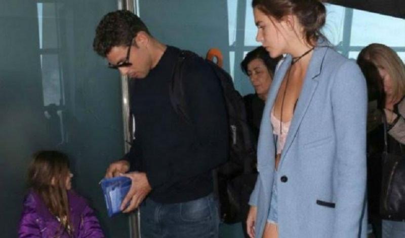 El galán brasileño Cauã Reymond descansa en Bariloche en familia